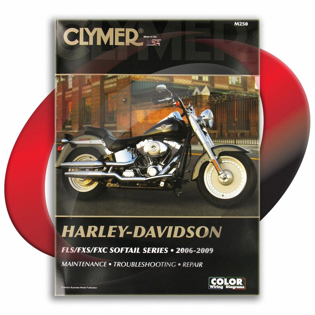 Details about 2006-2009 Harley Davidson FLSTF/FLSTFI Fat Boy Repair on