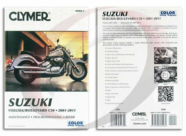 2005 2011 suzuki boulevard c50 repair manual clymer m260 3 service rh ebay com 2005 suzuki boulevard c50 owners manual 2005 suzuki boulevard c50t owners manual