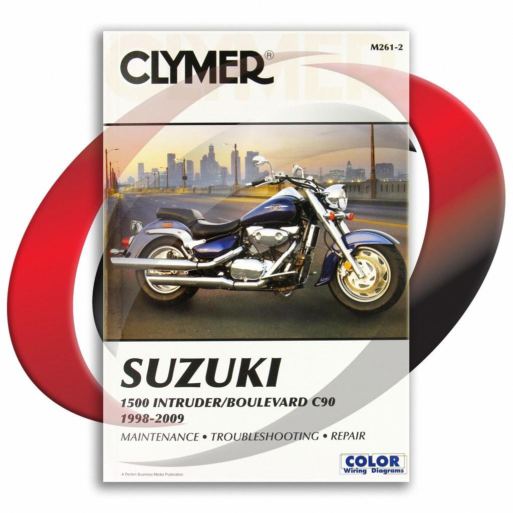 1998-2005 suzuki intruder lc 1500 vl1500 repair manual clymer m261-2 service