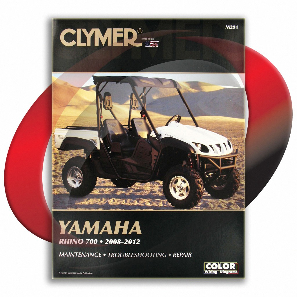 2008 2009 yamaha rhino 700 repair manual clymer m291 service shop