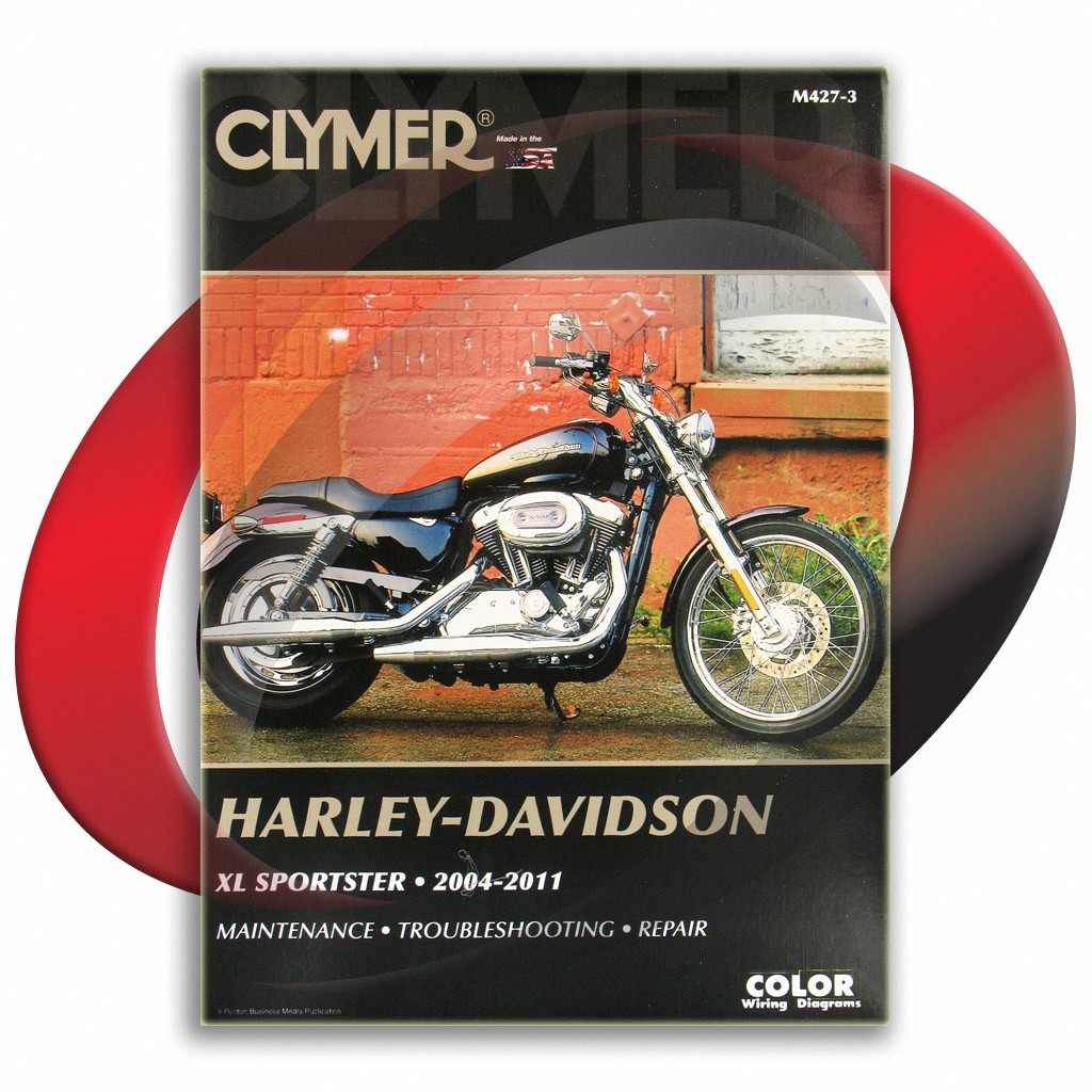 Details about 2004-2010 Harley Davidson XL883C Sportster Custom Repair on
