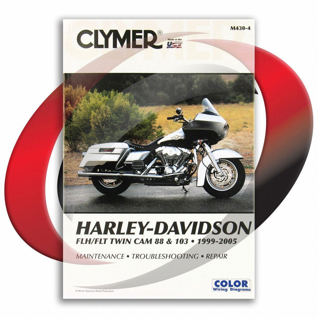 1999-2005 harley davidson flhr/flhri road king repair manual clymer m430-4