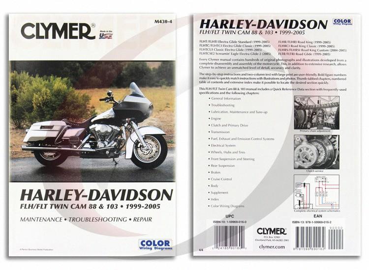 2004-2005 Harley Davidson FLHRS/FLHRSI Road King Custom Repair ... on
