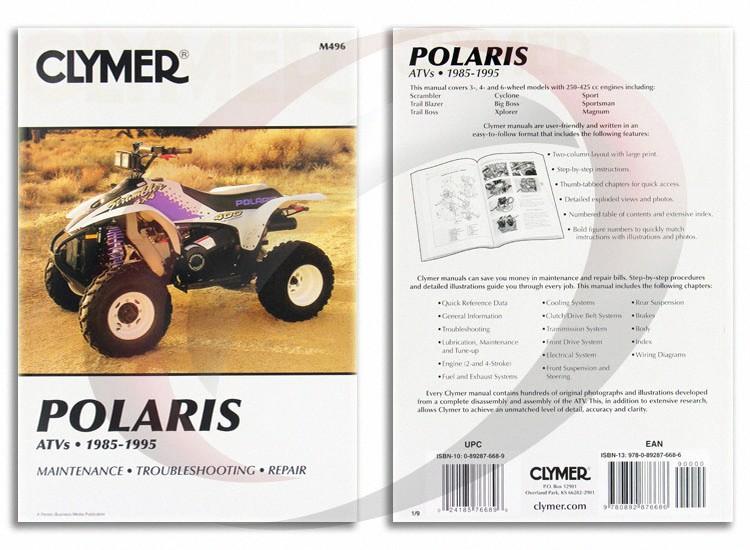 82 1995 Polaris Xplorer 400 Wiring Diagram. 1995 Polaris Xplorer 400 4x4 Repair Manual Clymer M496 Service Shop Garage. Wiring. Wiring Diagrams On 2000 Polaris Explorer 400 4x4 At Scoala.co