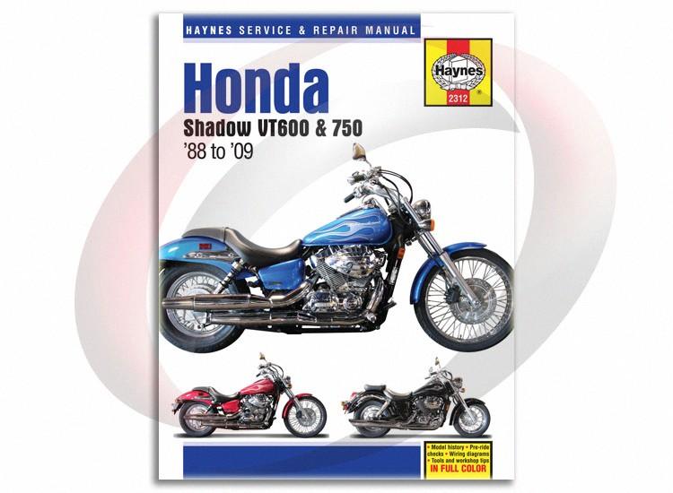 2009 honda shadow aero 750 service manual