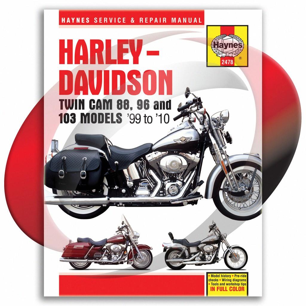 Details about 2000-2010 Harley Davidson Softail Haynes Repair Manual on