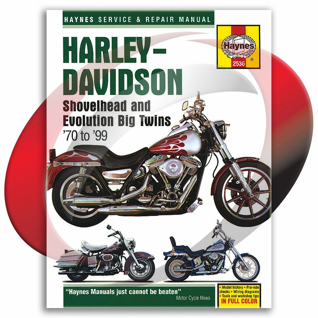 1970-1999 harley-davidson shovelhead big twins haynes repair manual 2536  shop