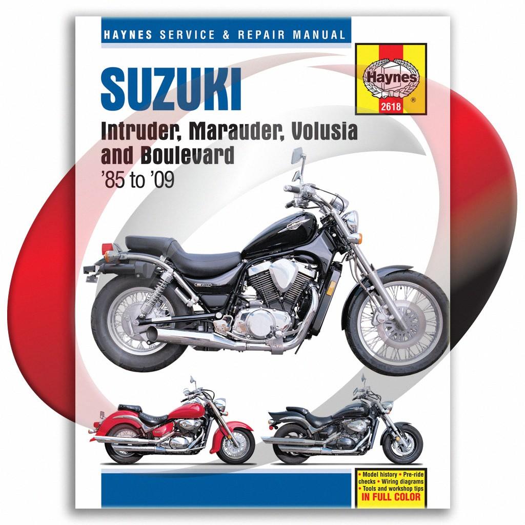 details about 2005-2009 suzuki boulevard c50 haynes repair manual 2618 shop  service garage
