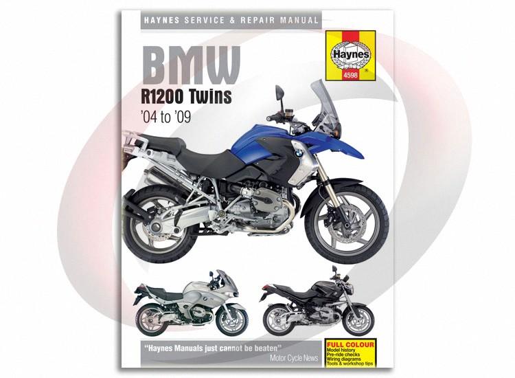 2005 2009 bmw r1200rt haynes repair manual 4598 shop service garage rh ebay com bmw r1200r shop manual bmw r1200rt workshop manual pdf