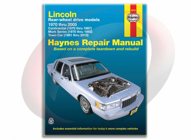 1981 2010 lincoln town car haynes repair manual 59010 shop. Black Bedroom Furniture Sets. Home Design Ideas