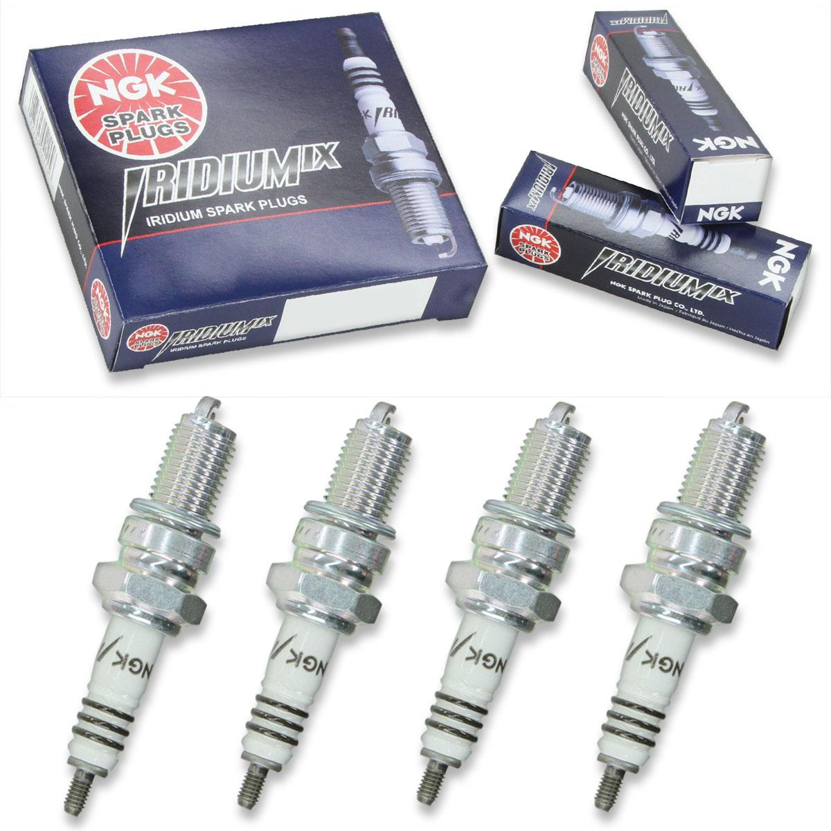 4pcs 82-97 Honda CR125 NGK Standard Spark Plugs 125 Kit Set Engine zd