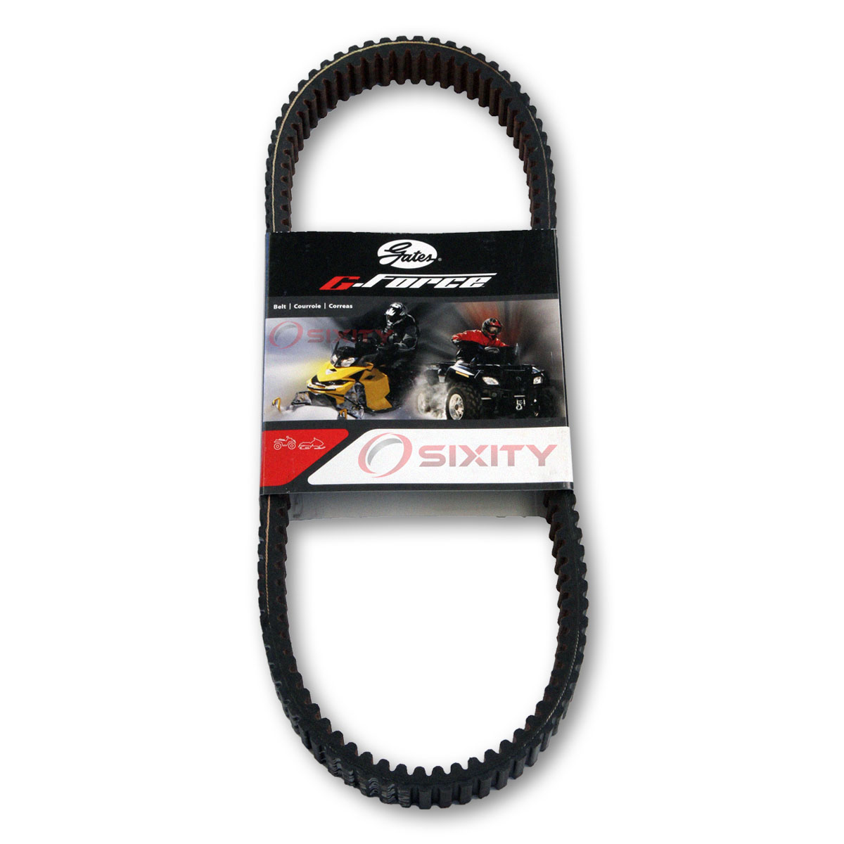 Gates 36G4368 Drive Belt G-Force