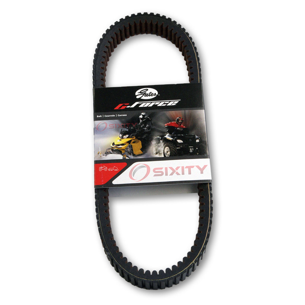 Dayco Aramid Reinforced Drive Belt Replacement to Can-Am 715000302 420280362